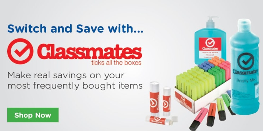 Save with our Own Brand Classmates Product Range