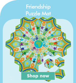Friendship Puzzle Mat