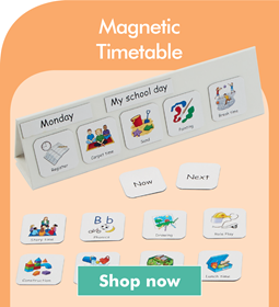 Magnetic Timetable