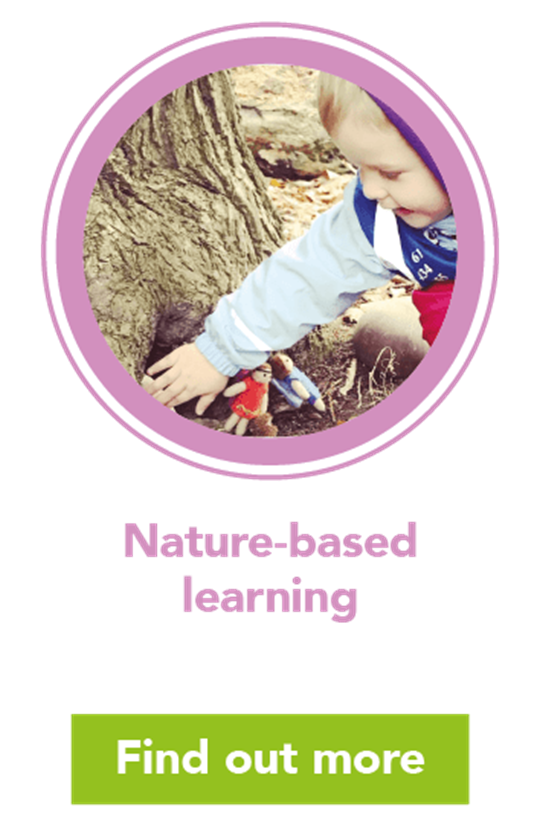 Outdoor learning: forest school activities