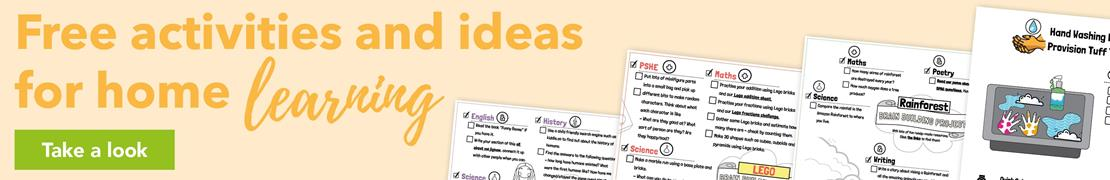 Free activities and ideas for home learning